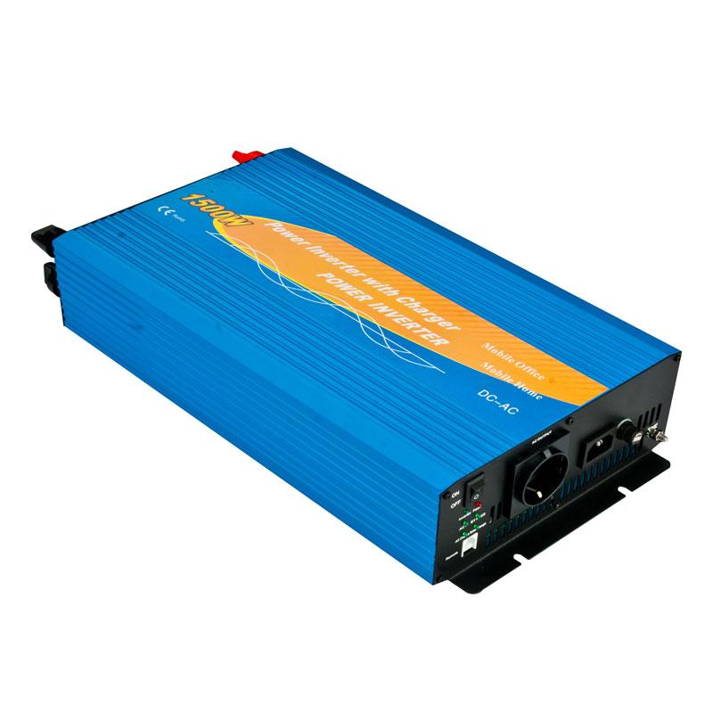 1500w Inverter Dengan Pengisi Daya Baterai