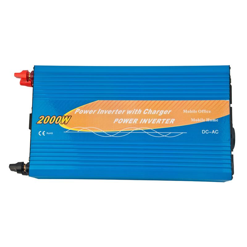 Inversor 2000w con cargador de batería