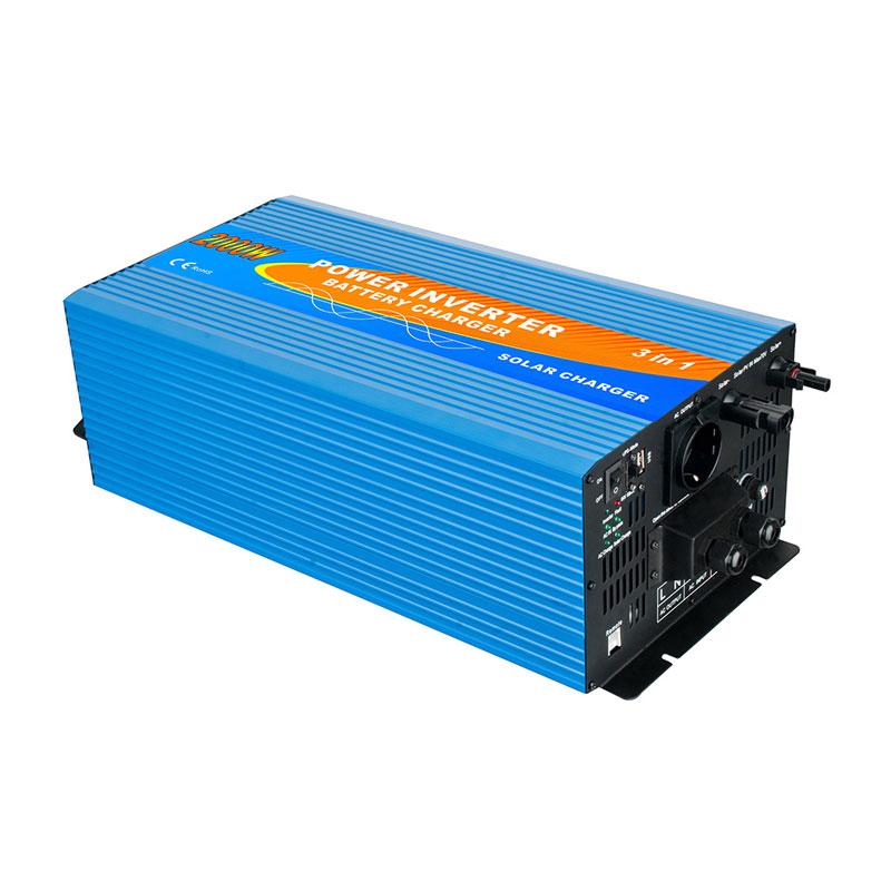 Inversor 2000w con cargador MPPT