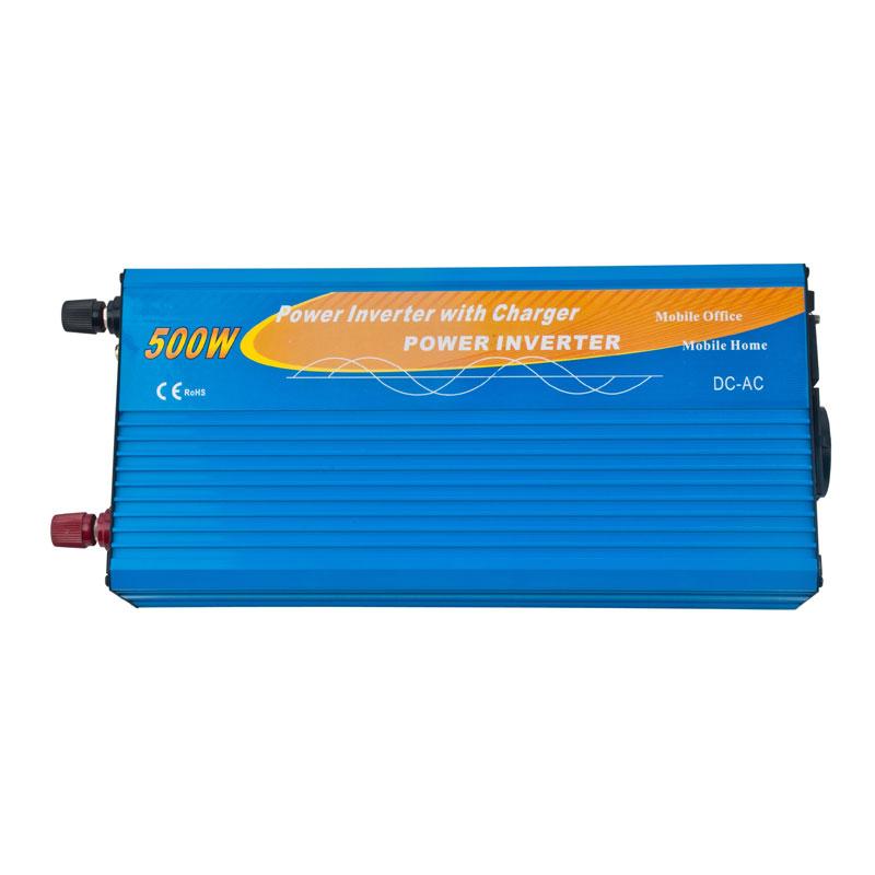 Inverter 500w con caricabatterie
