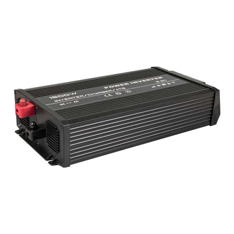Nuevo inversor de 1500w de diseño con cargador de batería