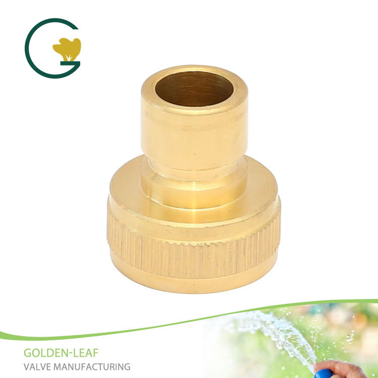 "3/4""Brass Threaded Female Quick Connector Coupling"