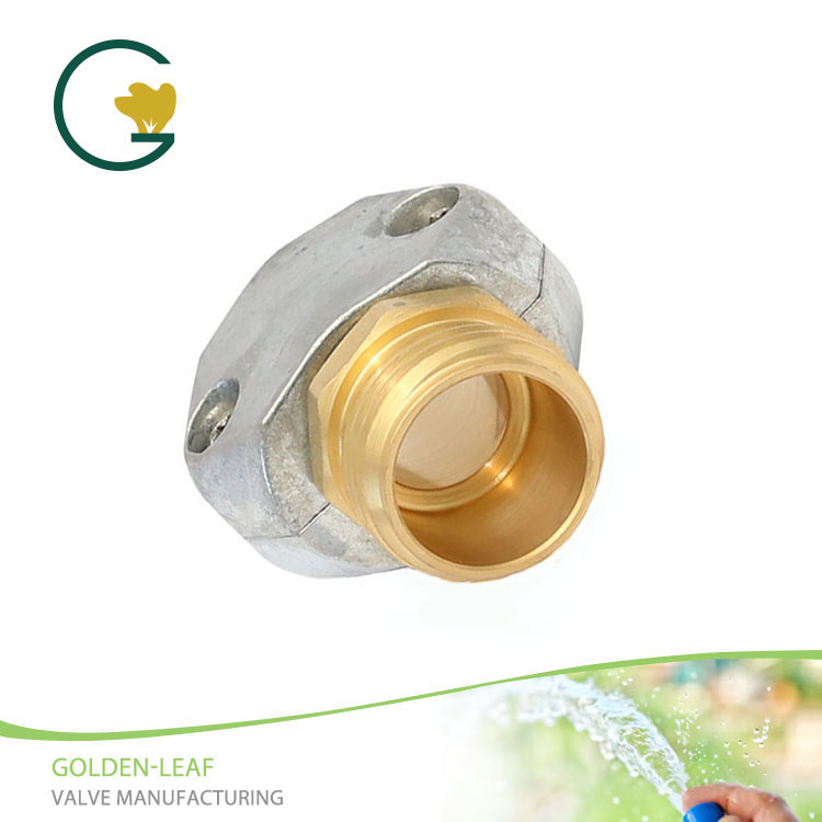 3/4 in. Brass/Zinc Threaded Male Clamp Coupling