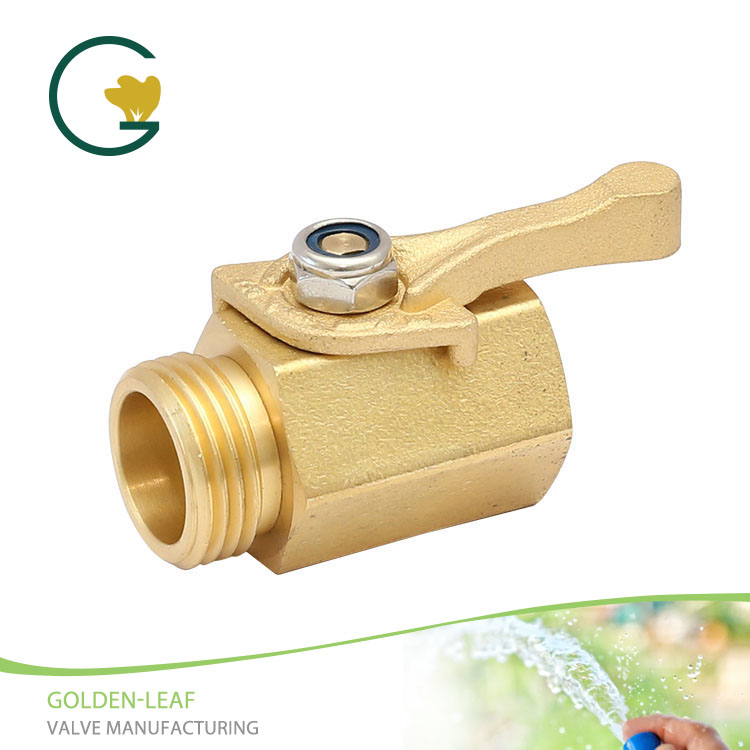 Brass Shut Off Valve With Forged Handle