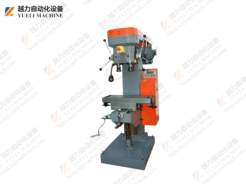 The main reason for the higher processing efficiency of the tapping machine