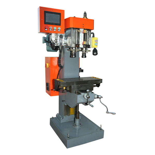 Auto Double Axis Drilling Tapping Machine