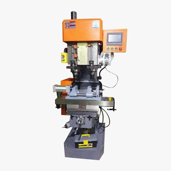 CNC машина за двойно шпинделно пробиване