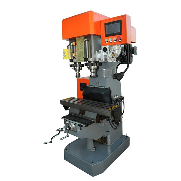 CNC Dual Spindle Drilling Tapping Complex Machine