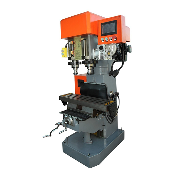 Servo Double Spindle Drilling Tapping Compound Machine
