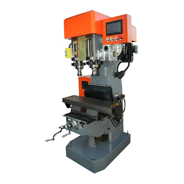 Servo Double Spindle Drilling Tapping Cutting Machine