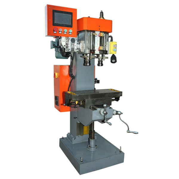 Vertical Double Axis Drilling Tapping Machine