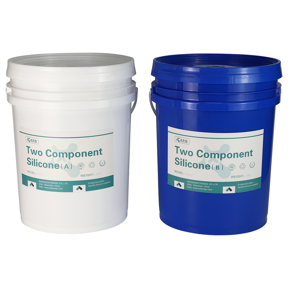 Can I increase the proportion of hardeners in a two-component potting compound? What are the disadvantages?