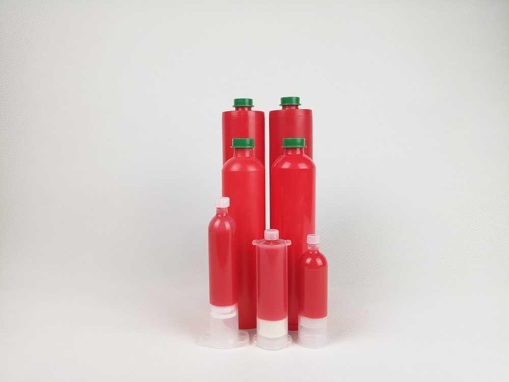 İstiliklə müalicə olunan qırmızı yapışqan