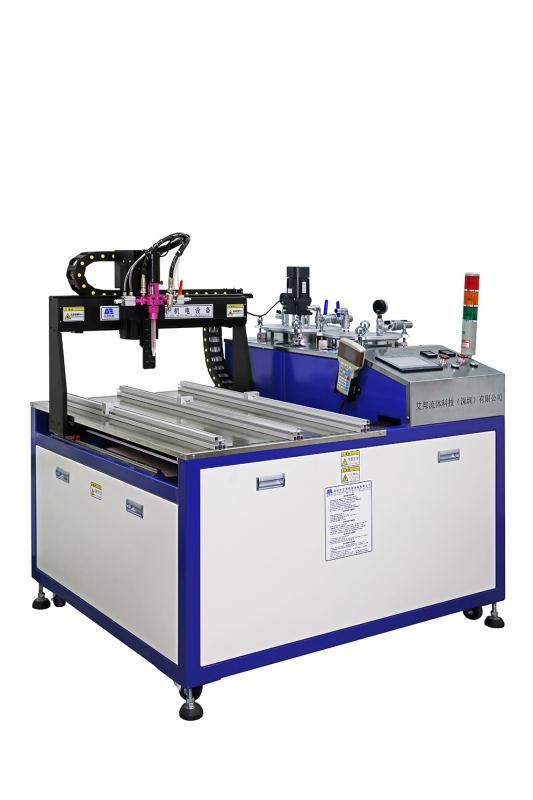 Sistema de dispensação de dois componentes