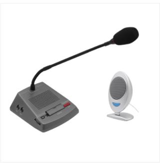 Application range of Professional Window Intercom Microphone for Bank Hospital Station