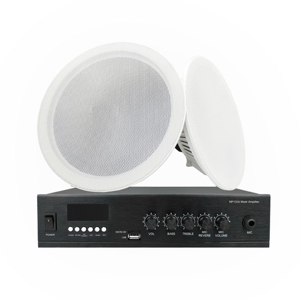 35W Mini Mixer Amplifier with Speaker