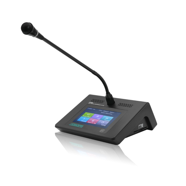Dante Digital Delegate Microphone with Voting Function
