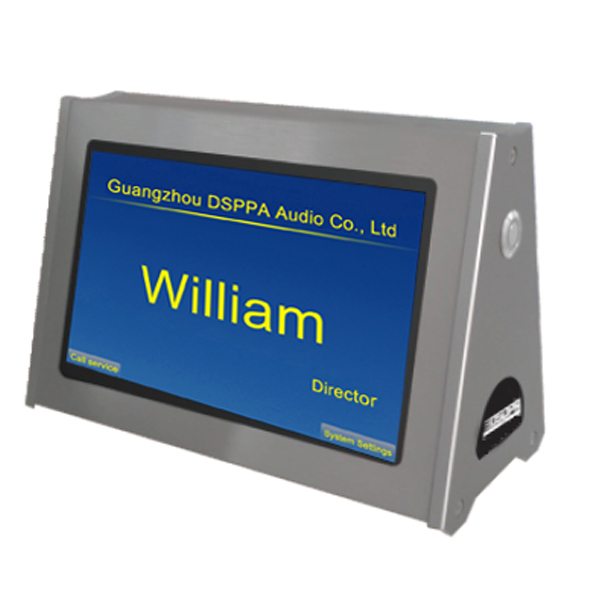 Dual Screen Conference Electronic Nameplate
