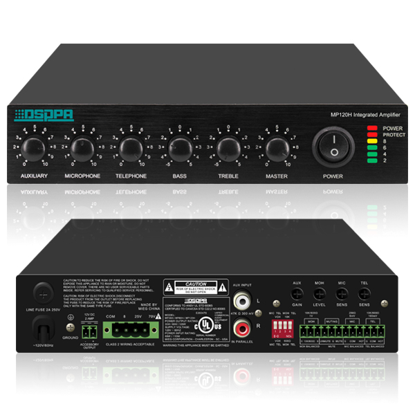 Rack Mounted Mini Digital Mixer Amplifier