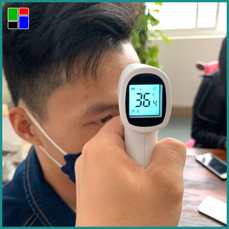 Tilpasset infrarødt termometer