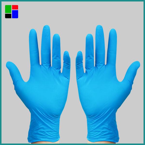 Stock Disposable Nitrile Gloves