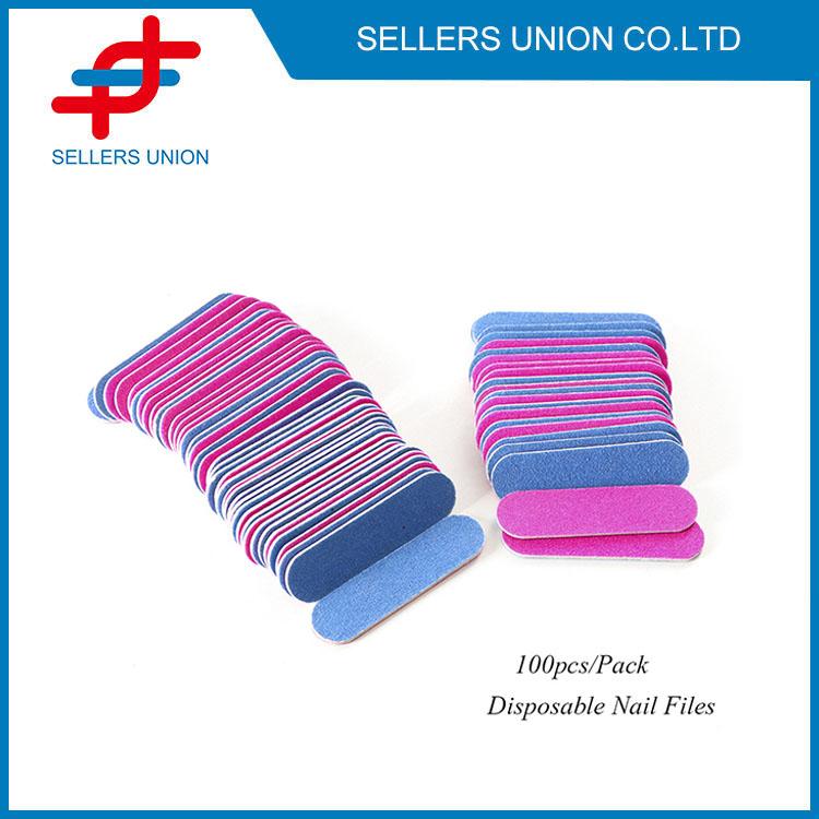100 balení jednorázových pilníků na nehty