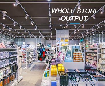 Hela butiksproduktionen