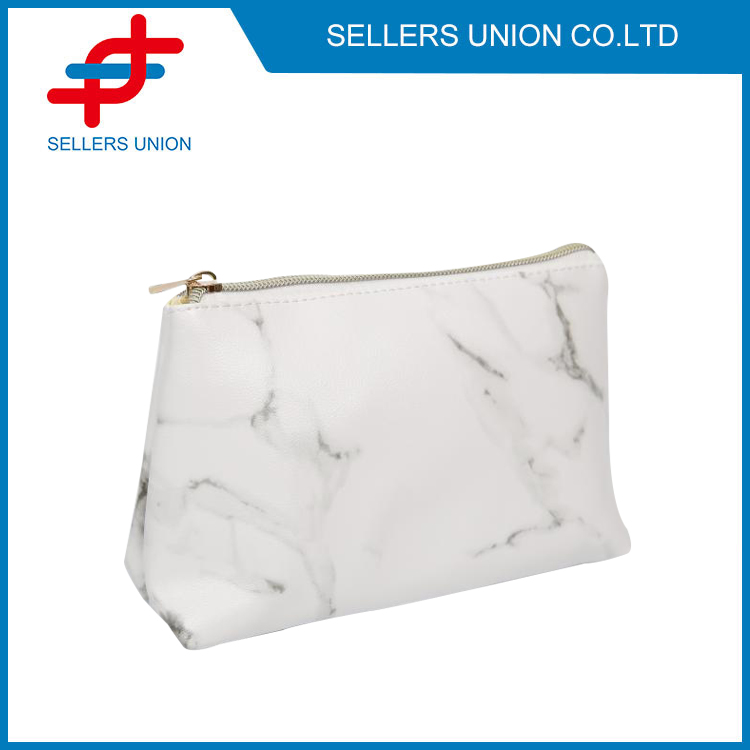 4 Pack Marble Cosmetic Bag