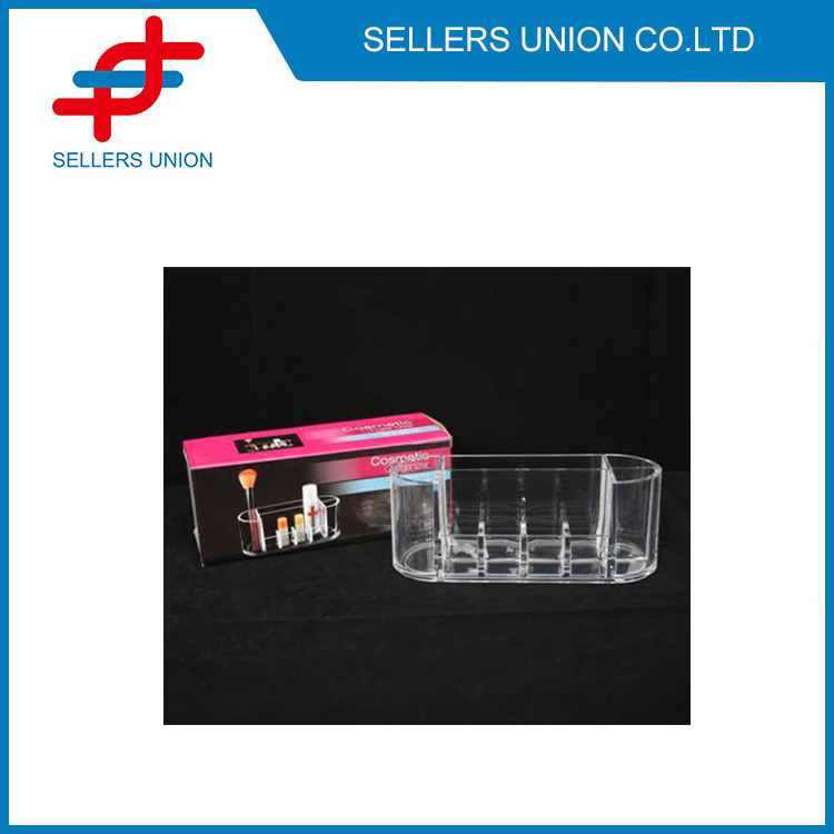 Clear Acrylic Makeup Organizer Case