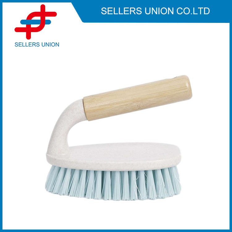 Multipurpose Cleaning Tools With Wooden Handle-(2074-1)