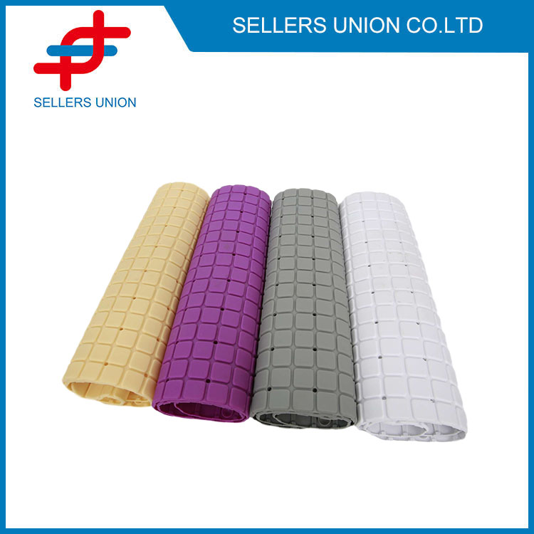 Shower Mat With Foot Scrubber