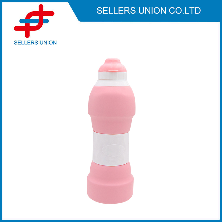 Silicone Telescopic Water Bottle