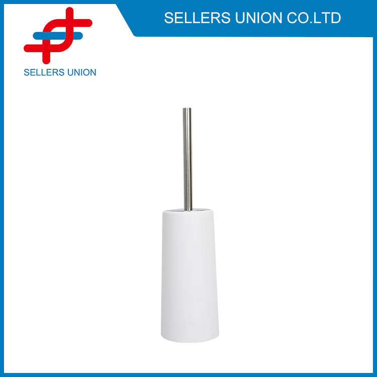 Toilet Brush Holder Stainless With Steel Handle