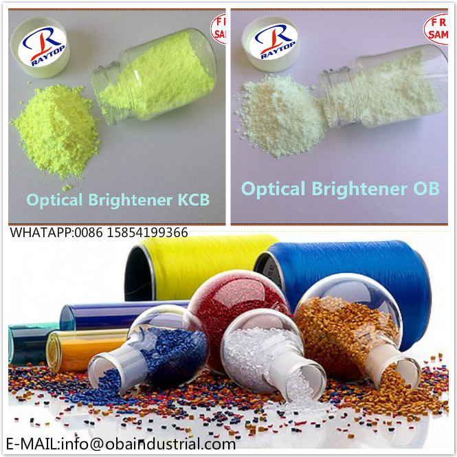 Use of plastic optical brightener - different industry field