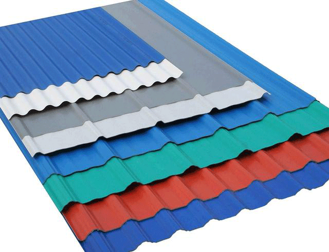 Classification characteristics and application of color coated steel plate