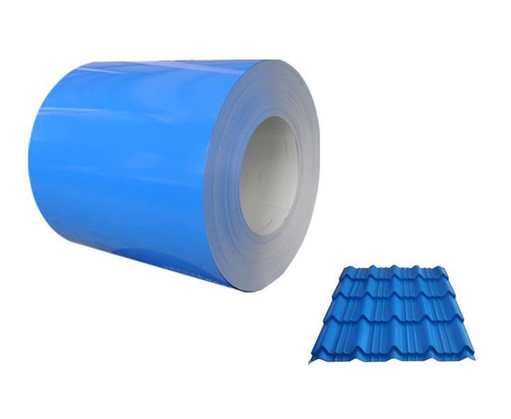 Wat voor soort verf wordt gebruikt op het oppervlak van gegalvaniseerd staal, zinkijzeren staalplaat, dakplaat?