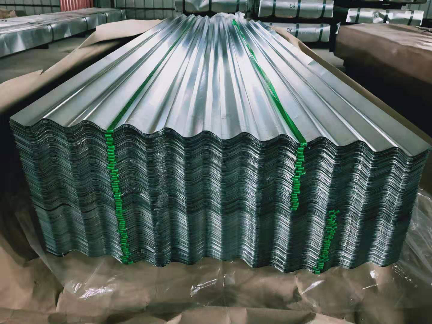 Colour Galvanized Corrugated Waterproof Roofing Steel