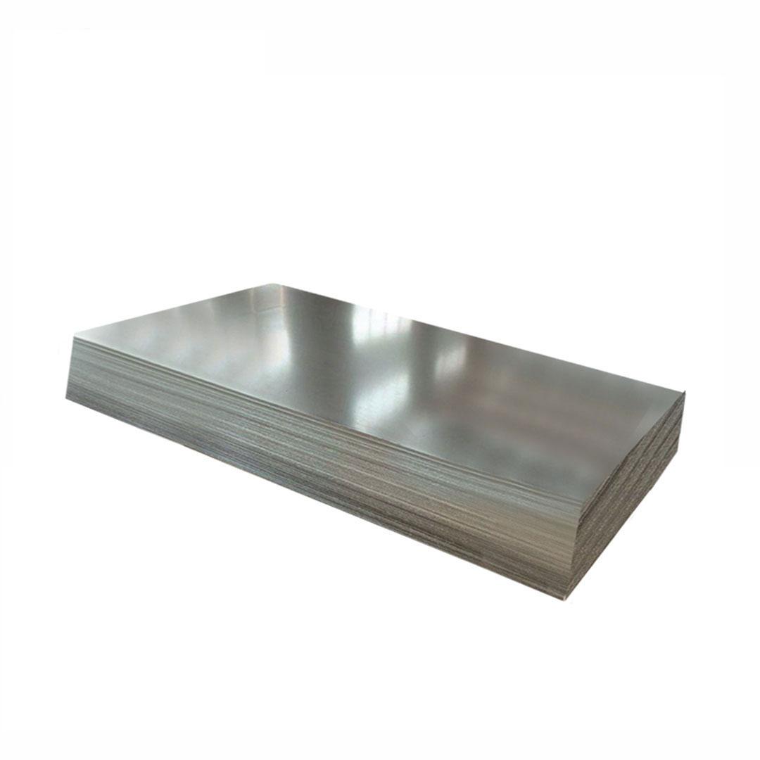 Aluminiozko xafla arrunta galbanizatua