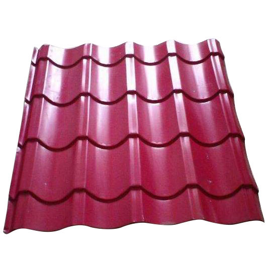 Glazed Corrugated Steel Tile