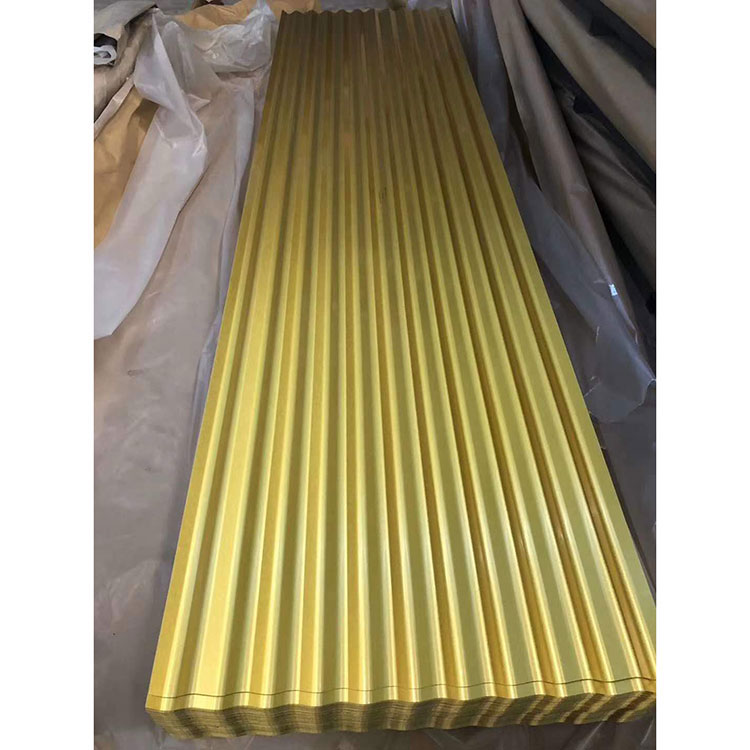 Pre-painted Corrugated Metal Sheets