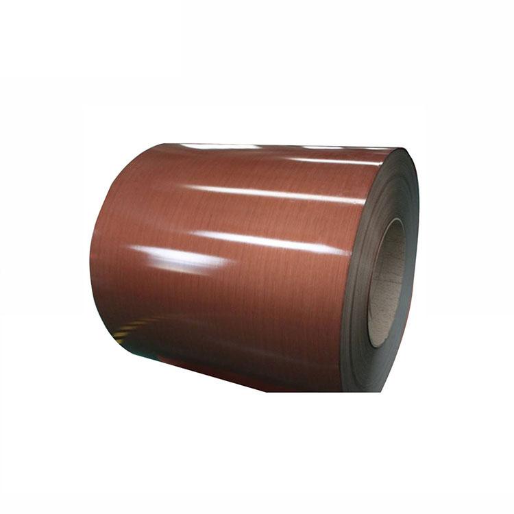Bobina in acciaio preverniciato con film in PVC