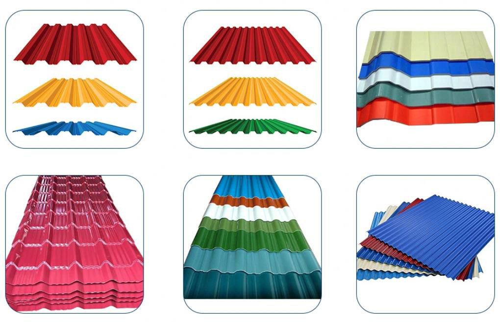 SMP Colour Coated Roofing Sheets