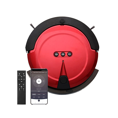 Robot vacuum cleaner with Li-ion battery inside