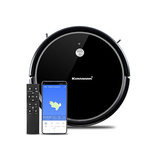 Voice compatibility self charging robot cleaner