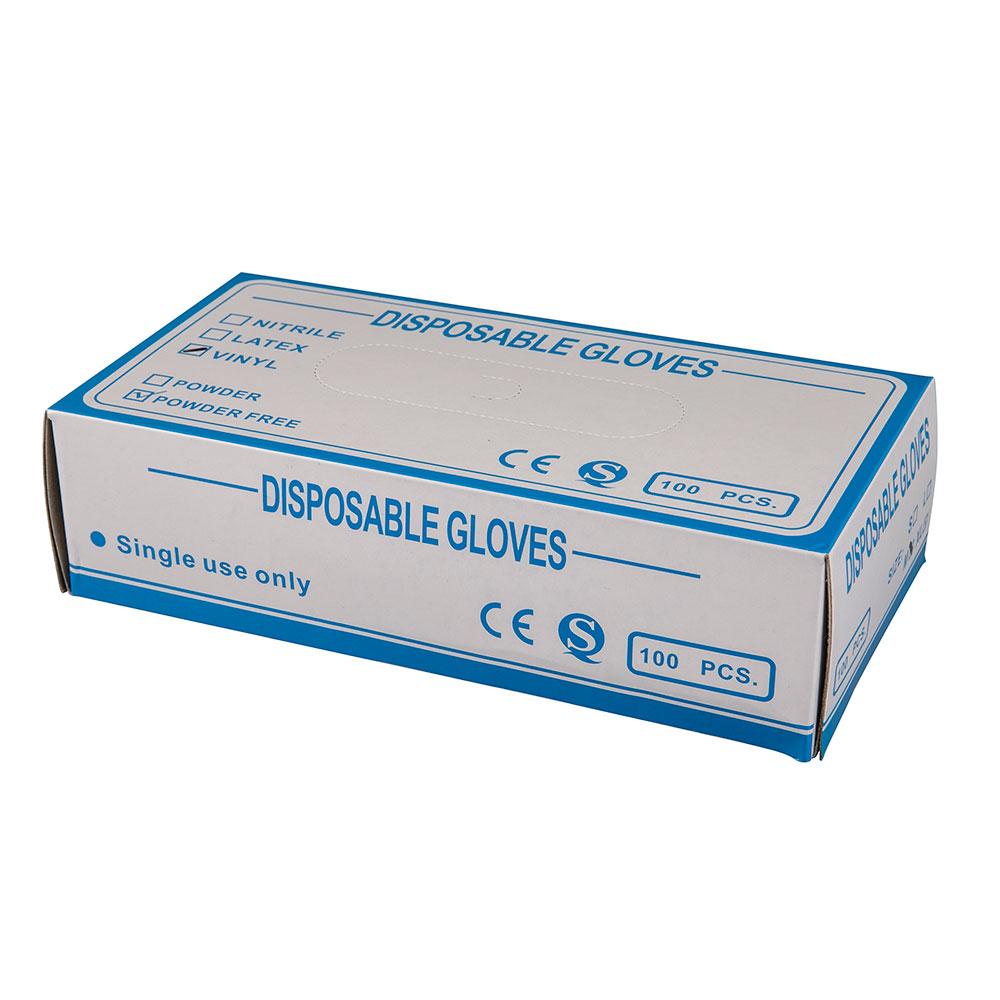 Jednorázové rukavice z PVC