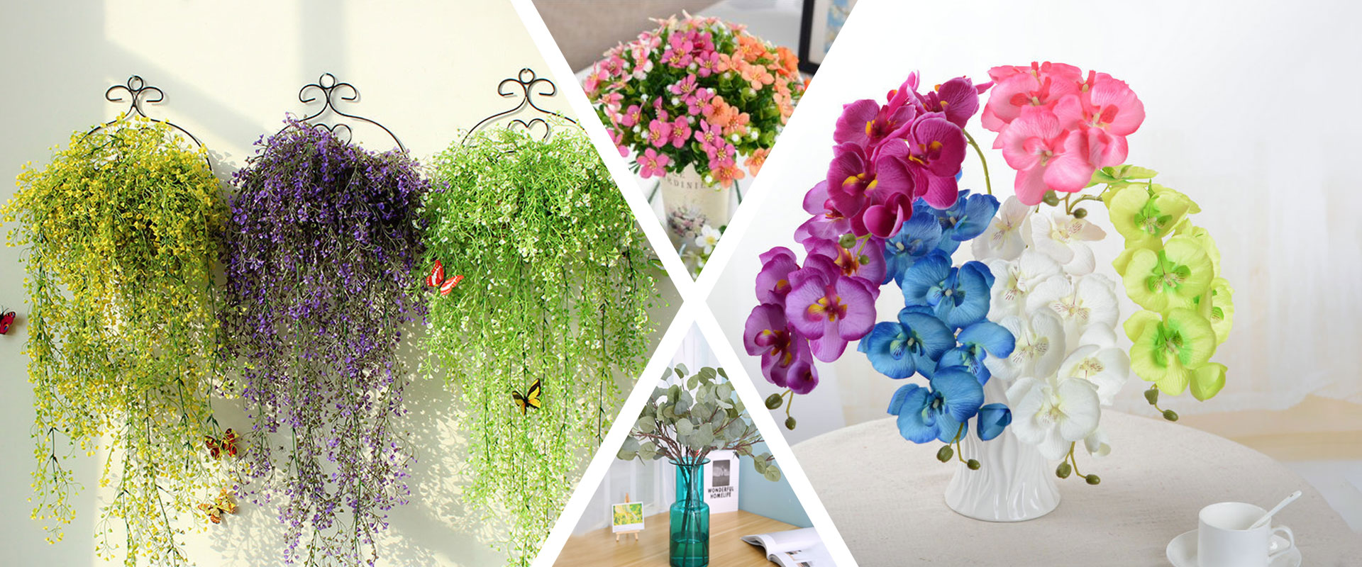 Artificial Flowers Suppliers & Factory