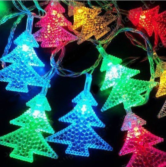 20L LED With Tree Accessories Warm/White/Colorful Light