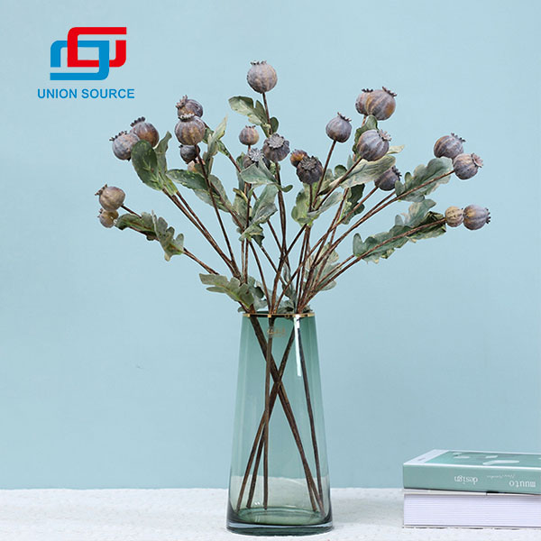 Artificial Berries Poppy Berries Good Quality For Home And Wedding Usage