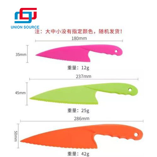 Cheap And Colorful PP Knife