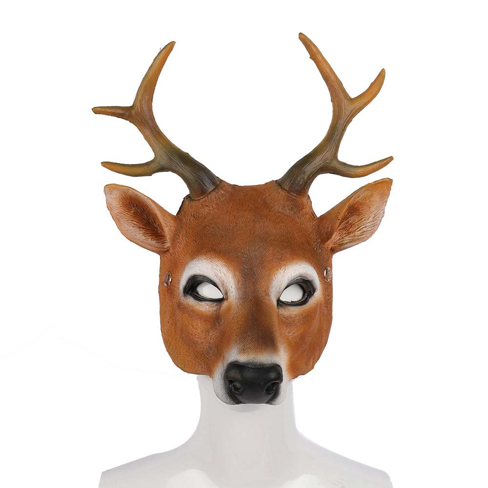 Cheap Deer Shaped Carnival Mask